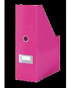 Tidskriftsamlare Click & Store WOW Rosa, 95x245x310mm