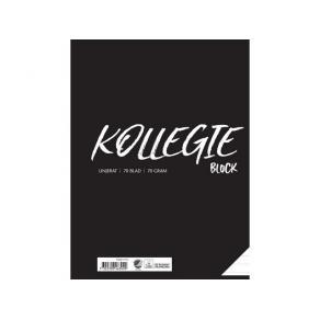 Kollegieblock A4 70g 70 blad linjerat