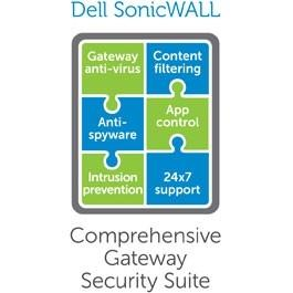 SonicWall Comprehensive Anti-Spam Service for TZ 600