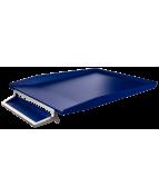 Brevkorg Style silver/blå
