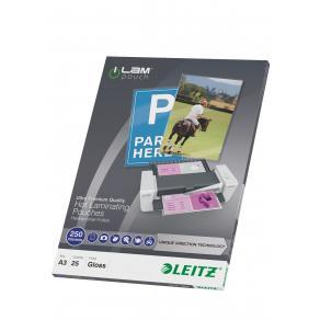 Laminat Leitz A3, 250mic, 25/fp