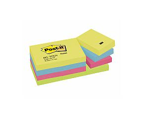 Post-It Energy Rainbow, 38x51mm, 12st 12st