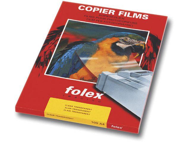 OH-film Laserskrivare Folex X-520, A4, värmebeständig, 100/fp