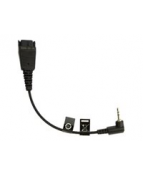 Headset Adapter Jabra, QD - 2,5mm