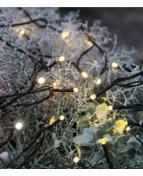 Ljusslinga Led 80ljus svart