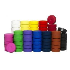 Färgblocksats, 44mm, 72/fp