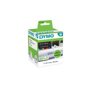 Etikett DYMO adresse 89x36mm (2x260)