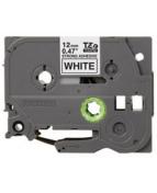 Tape BROTHER TZES-231 12mm svart på vit