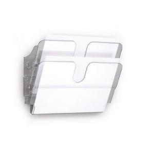 Blankettfack Durable Flexiplus Transparent, A4L, 2/fp