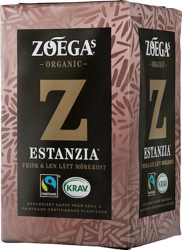 Kaffe Zoegas Estanzia mörkrost malet 450g 12st