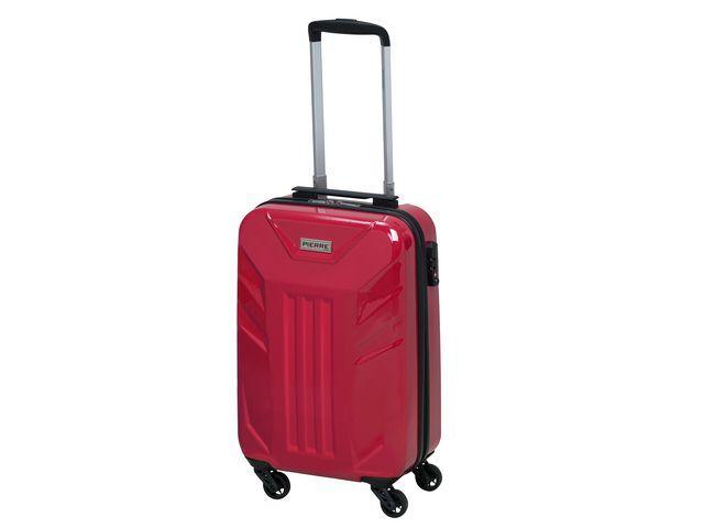 Resväska Pierre Cabin Suitcase 20 Röd, kabinstorlek