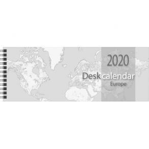 Stor Plankalender Europa, 6 språk - 1353