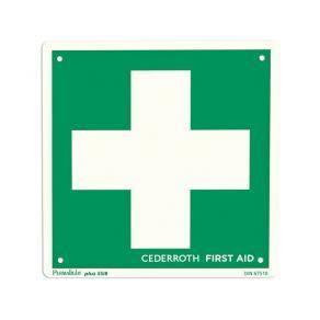 Första Hjälpen-skylt