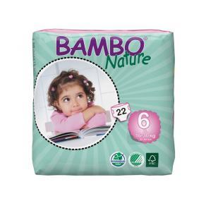 Blöjor - Blöja Bambo Nature XL 16-30 kg 22/FP