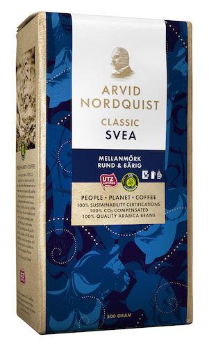 Kaffe Classic Svea vac  500g 12st