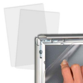 Frontplast 50x70cm Snäppram, 0,5mm