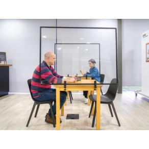 Skärm bord klämma 900x600