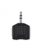 Audio 3.5mm / 2 x 3.5mm Splitter Stereo, Black