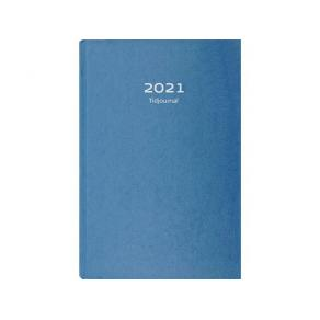 Tidjournal 2021 kartong Blå - 1009