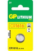 Batteri GP Lithium CR1616