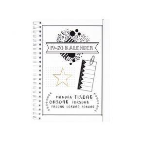 Kalender 19-20 Doodle III A5