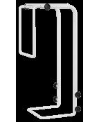 R-Go Steel Basic CPU Holder, adjustable, white