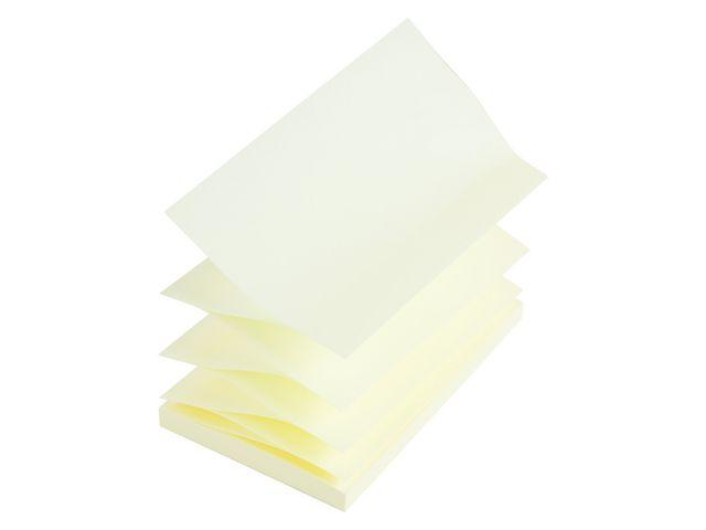 Notes STAPLES Z-block 76x127mm gul 12st