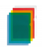 Aktmapp A4 0,15 mm blå 25/FP