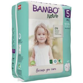 Blöja BAMBO Nature S5 12-18kg 22/FP