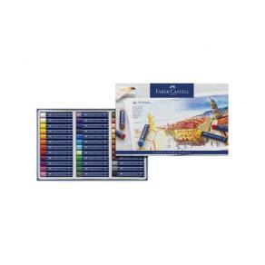 Oljepastellkrita Faber-Castell, 36 färger