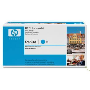 Toner HP C9731A 645A Cyan