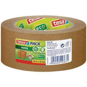 Packtejp TESA 50mmx50m Papper Brun