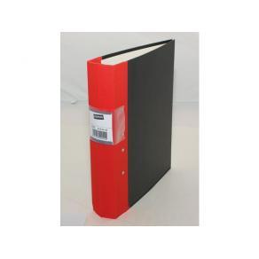 Gaffelpärm STAPLES A4 60mm röd