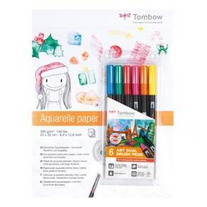 Tombow akvarellblock +ABT-6P-3 Promotion 2018