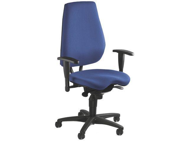 Kontorsstol TOPSTAR Ergo Basic blå