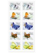 Frimärke Fjärilar 10/fp.