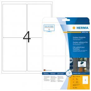 Etiketter HERMA Outdoor, 99,1x139mm, 40/fp