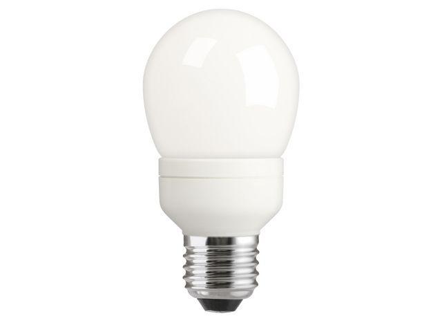 Lågenergilampa Normal, E27, 8W