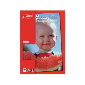 Fotopapper STAPLES Bas 10x15 gloss 50/F