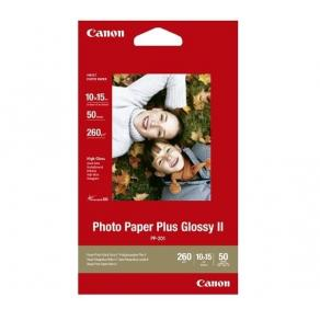 Fotopapper Bläckstråle CANON PP-201, 10x15cm, plus glossy, 50/fp