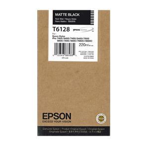 Bläckpatron EPSON C13T612800 mattsvart
