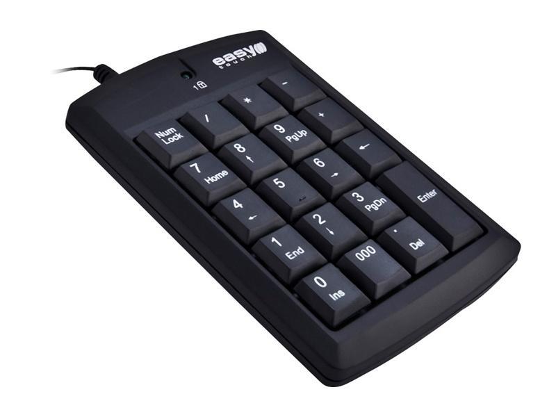 Axis numeriskt tangentbord med siffror