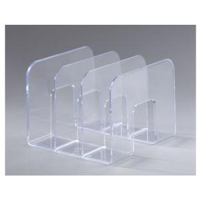 Katalogställ Transparent, 3-fack, 215x210x165mm