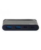 Legrand - Hubb - 2 x SuperSpeed USB 3.0 + 1 x USB-C + 1 x USB-C