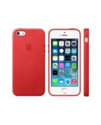 Apple (PRODUCT) RED - Baksidesskydd för mobiltelefon - läder