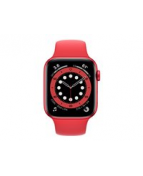 Apple Watch Series 6 (GPS) - (PRODUCT) RED - 44 mm - röd