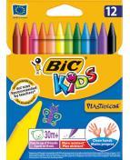 Plastkrita, 12 färger