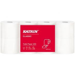 Toalettpapper KATRIN Classic 200, 2-lag, 25m, 64rl/fp