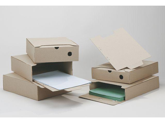 Arkivbox A4 Brun, 60mm ryggbredd, 50st 50st