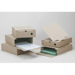 Arkivbox A4 Brun, 60mm ryggbredd, 50st